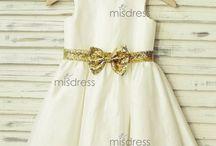 Taffeta Flower Girl Dresses