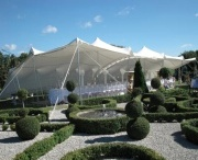 Stretch Tent Weddings. / Stretch Tents providing cover for impressive weddings in gorgeous locations.