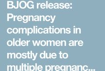 Advanced maternal age
