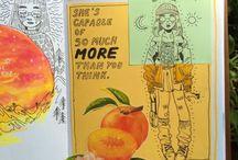 sketch books/journal