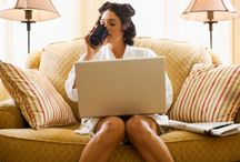 Work at home / by Alison Kray