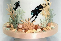Diving cakes
