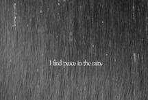 peace in the rain / by Selinda Dressen