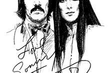 Sonny & Cher / by 17869734004