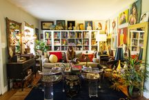 Wonderfully Eclectic Decor / Some call it Bohemian, some call it eclectic or eccentric....I just think it's wild and wonderful eye candy! / by Linda