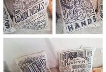 Print / Stampe su materiali e tessuti