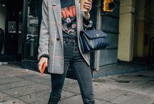 How to wear: plaid/check blazer