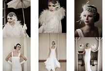 1920s wedding styling inspiration board