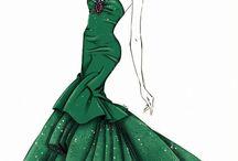 Fashion sketch 2015 / by Grazyna Lilley