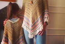 Crochet shawl scarf poncho cape / by Chengcheng Huang