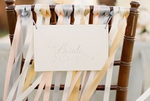 Wedding Decor  / Candles, lights, table numbers, etc.