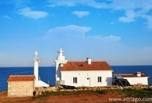 Lighthouse rentals / Spend your vacation in a lighthouse. www.adriago.com