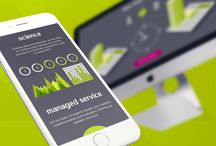 DXTR Creative / Portfolio of Web Design and User Interface work