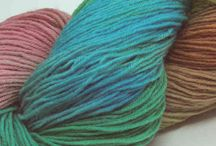 *The Knitters Attic * Hand Dyed Skeins