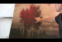 landscapes oil paintings / landscapes in oil