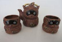 Vintage Tea Sets / A selection of unique vintage tea sets.