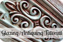 painting/glazing/antiquing