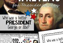 Teaching- Presidents Day
