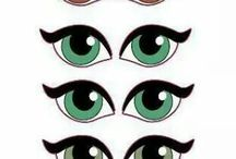 olhos para boneca