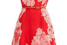 kvetovane šaty