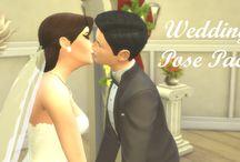 Poses pour mariage