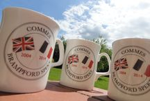 Mugs, Mugs, Mugs.... / Examples of mugs that we have made up for different places and organisations across the UK.