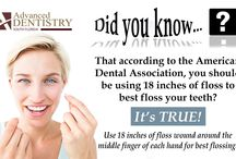 Dental Facts / Various dental facts and tooth trivia