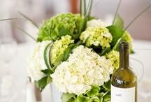 Wedding flowers / D&E wedding flower ideas