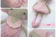 Fabrik Doll / куклы из ткани