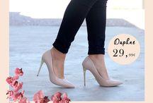 Daphne 29,99€ || Γυναικεία Γόβα Λουστρίνι Ροζ