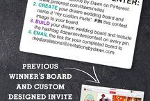 My custom invite / by Crystal Martinez