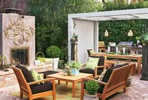 ❀ Beautiful Patios and Porches ❀