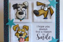 Crazy Dogs Stamps