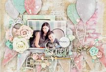 Scrapbooking pages...