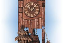 Cuckoo Clocks - Traditional Hand Carved / Traditional Hand Carved authentic German Black Forest cuckoo clocks available at Bavarian Clockworks.