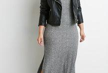 Big size fashion woman