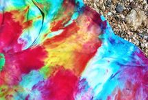 ice dye art