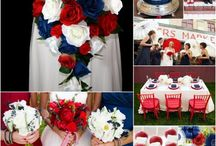 Patriotic wedding ideas / Our favorite ideas for 4th of July and Veteran's Day weddings