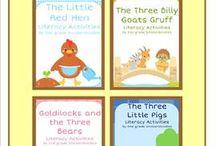 School - Folk/fairy tales / by Stephanie Pudlowski