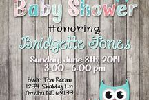 tarjetas baby shower