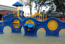 """Freestanding Play - More Fun / Panels, Spinners, and Talk Tubes, oh my! There are tons of """"More Fun"""" independent structure options to add extra entertainment to your existing playground or a new one!"""