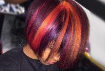 Hair Color on Black Hair