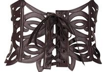 leatherette corset or belt making