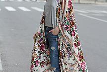 Kaftan, Kimono