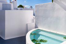 terraza santorini