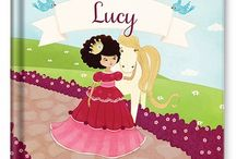 Princess Personalized Book / With her name and favorite color on every page, this book is a dream come true for your little princess! / by I See Me! Personalized Children's Books