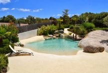 natural pool that blends perfectly with environment