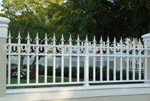 fence,house