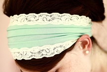Head coverings :) / I would just make them so that you could still see some hair...