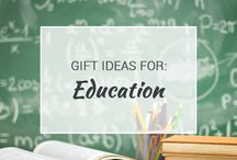 Gift Ideas for Education / Teachers, education professionals and academics can all benefit from the fun ideas on this board. Make sure to follow it for frequent updates and new ideas!